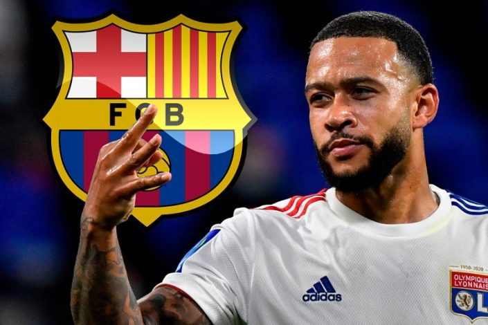 Barcelona set to sign Memphis Depay from Lyon