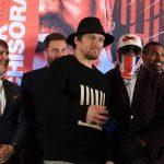 Boxing: Oleksandr Usyk to take on Derek Chisora on October 31