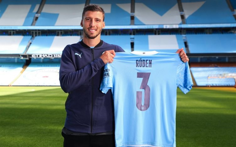 Manchester City announce the capture of Ruben Dias from Benfica