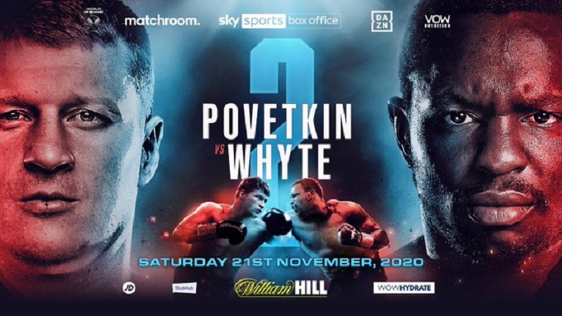 Dillian Whyte in his rematch with Alexander Povetkin