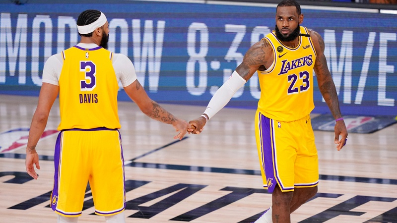 LA Lakers take the lead in Game 1 of the NBA Finals beating Miami Heat 116- 98
