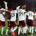 Carabao Cup: Arsenal's Joe Willock converts crucial penalty to beat Liverpool on penalties