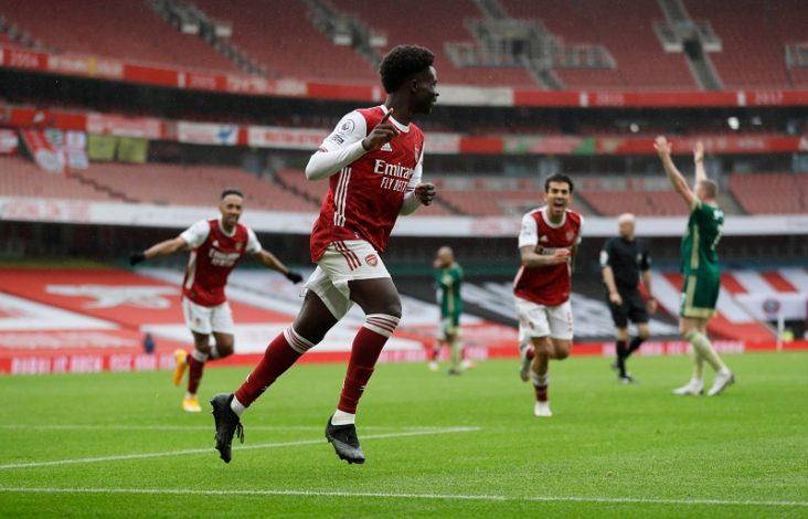 Saka and Pepe on target as Arsenal beat Sheffield United 2-1