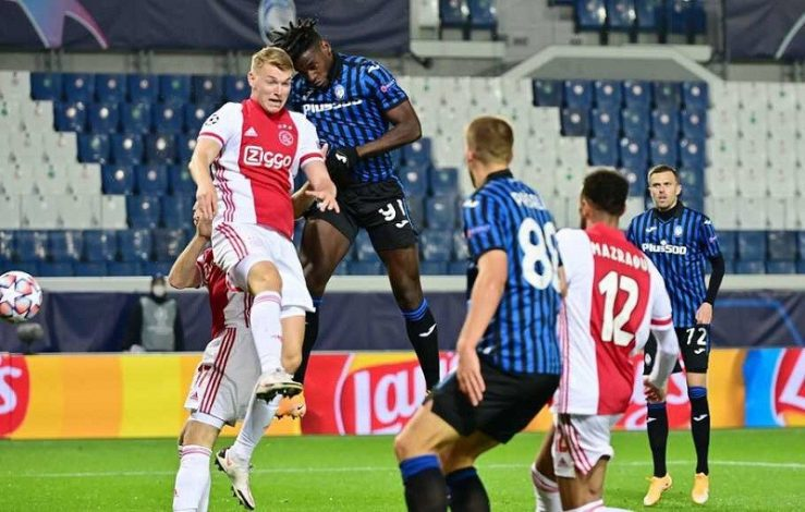 Atalanta pull from two goals down to draw with Ajax