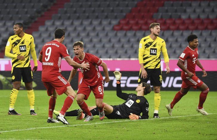 Bayern Munich beat Borussia Dortmund 3-2 to lift German Super Cup