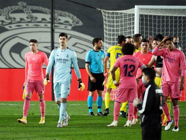 La Liga: Real Madrid fall to stunning defeat newly-promoted side Cadiz