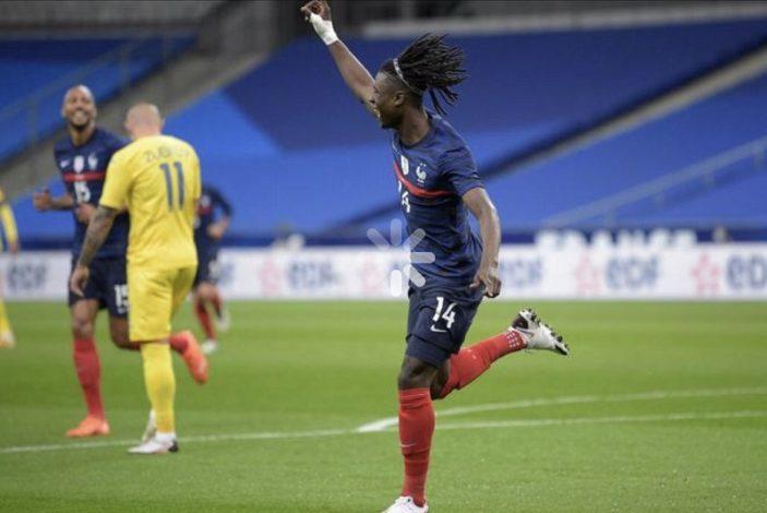 Eduardo Camavinga becomes France's youngest goal scorer in over 100 years