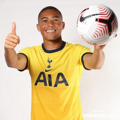 Tottenham complete signing of Carlos Vinicius from Benfica