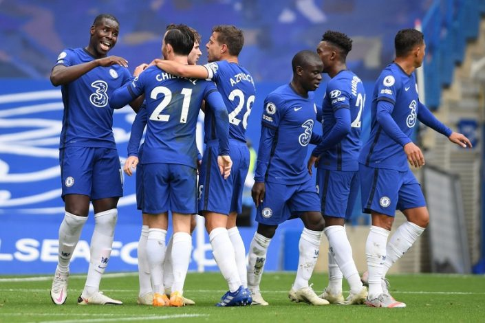 Chelsea bounce back to thrash Crystal Palace 4-0