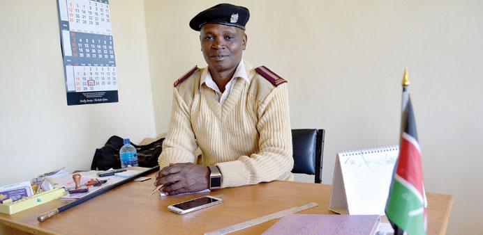 Tweeting' Chief Francis Kariuki is dead.