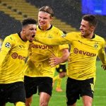 Champions League: Borussia Dortmund's two late goals from Sancho and Haaland beat Zenit