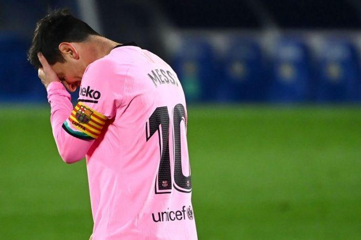 Barcelona suffer shocking loss away to Getafe