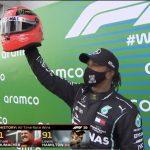 Lewis Hamilton Wins Eifel Grand Prix to Equal Michael Schumacher's Record