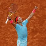 Tennis: Nadal wins French Open for 20th Slam title