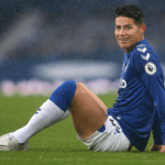 Premier League: Everton's James Rodriguez struggling with testicle injury