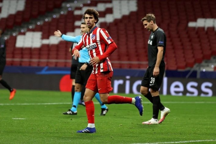 Diego Simeone confident Joao Felix will grow despite playing in a reserved position
