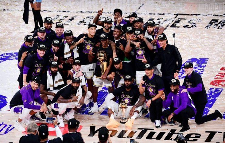 LA Lakers win NBA Finals beating Miami Heats 106 – 93