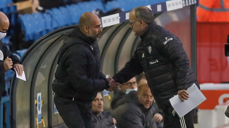 Leeds draw 1-1 with Manchester City