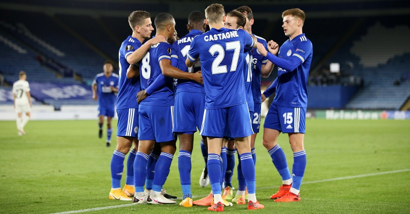 Leicester beat Zorya Luhansk as James Maddison, Harvey Barnes and Iheanacho on target