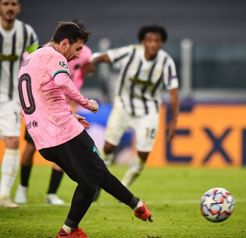 Barcelona make fun of missing Cristiano Ronaldo as Lionel Messi lead side to win over Juventus