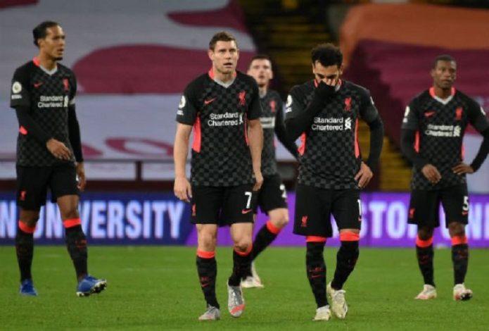 Aston Villa out SEVEN past champions Liverpool