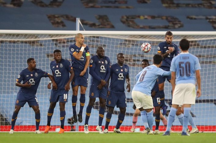 Manchester City rally from a goal down to beat FC Porto 3-1