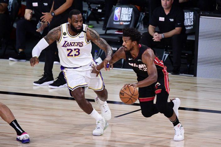 Miami Heats beat LA Lakers 115 – 104.