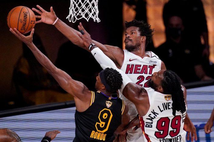 Miami Heats beat LA Lakers in Game 5