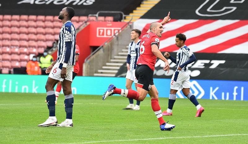 Southampton beat West Brom 2-0