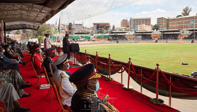 Uhuru's full Mashujaa Day speech