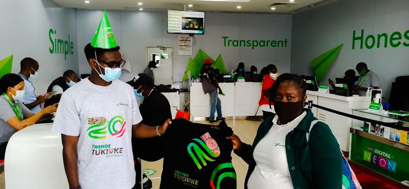 Safaricom Celebrates 20 Years of Transforming Lives