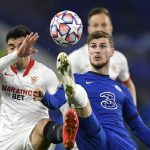 Champions League: Chelsea and Sevilla play to a goalless draw as Mendy returns in goal for the Blues