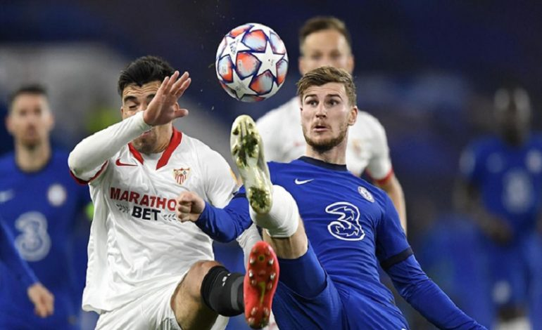 Chelsea and Sevilla play to a goalless draw as Mendy returns in goal for the Blues
