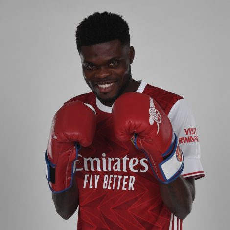 Thomas Partey promises to give his best as he is unveiled at Arsenal