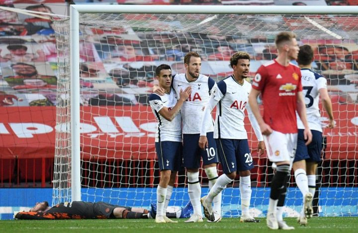 Tottenham thrash Manchester United 6-1 at Old Trafford