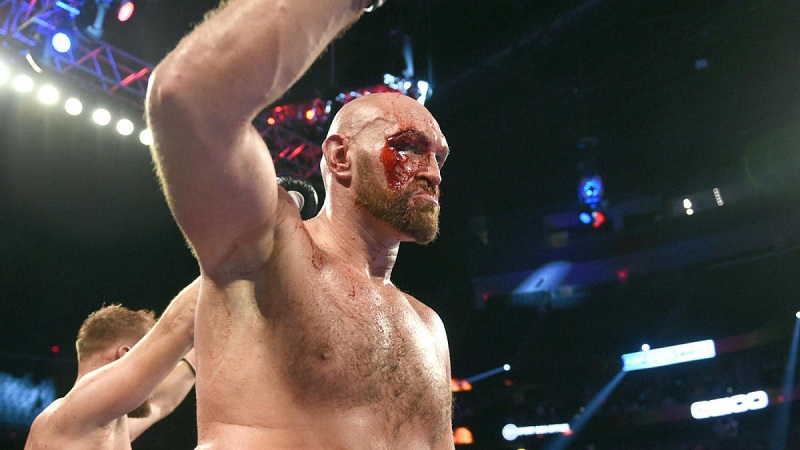 Tyson Fury urged to fight Otto Wallin after trilogy bout with Deontay Wilder collapsed.