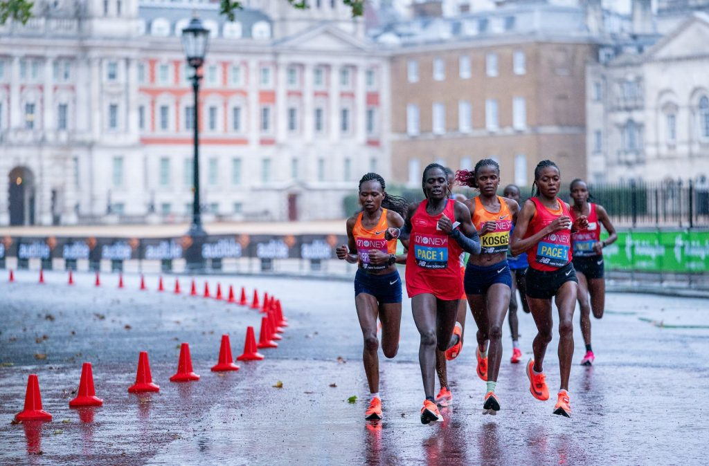 Brigid Kosgei Wins London Marathon