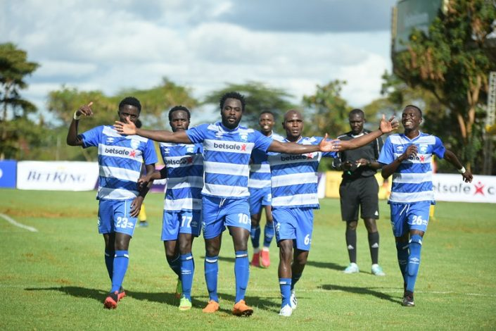 AFC Leopards beat Tusker FC to go top of the table