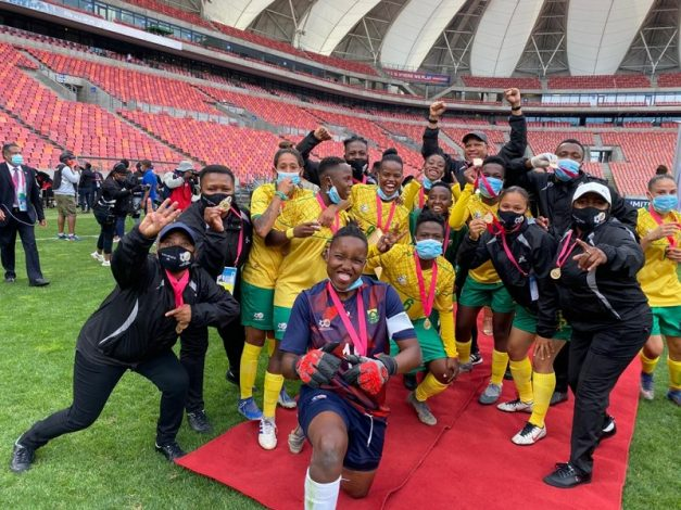 Defending champions Banyana Banyana were gunning for their fourth successive title and showed determination as they finished top of group A undefeated and without conceding a single goal.