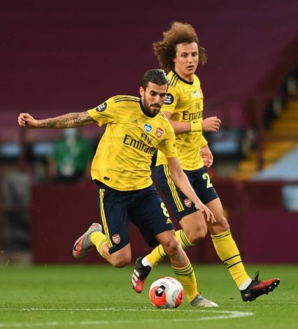 Dani Ceballos claims that bust-up with David Luiz showed that Arsenal's team got character