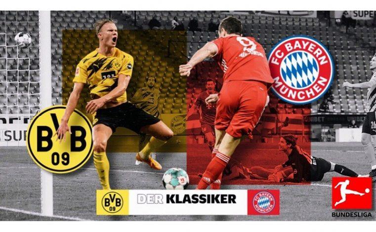 Borussia Dortmund host Bayer Munich in this season's first Der Klassiker