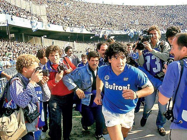 Napoli considering renaming their stadium after fallen hero Diego Maradona