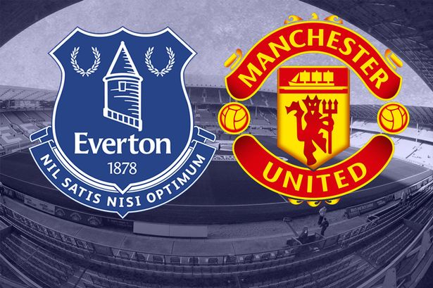 Everton host Manchester United at Goodison Park in early kick-off on Saturday