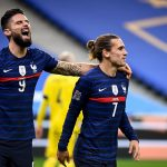 Olivier Giroud strikes twice as France beat Sweden 4-2