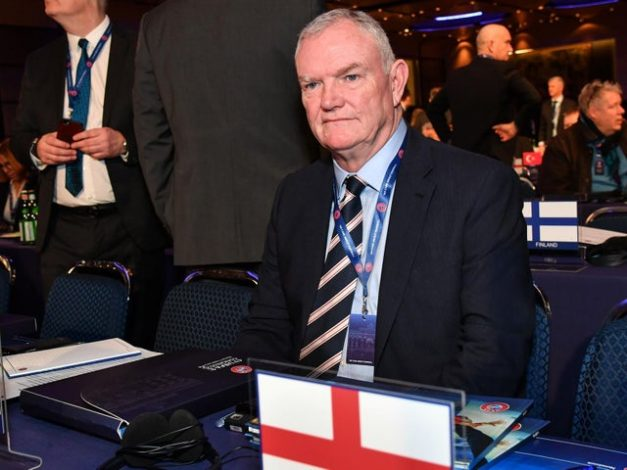 FA Chairman Greg Clarke resigns over remark about black players