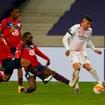 AC Milan held to 1-1 draw by Lille in Europa League
