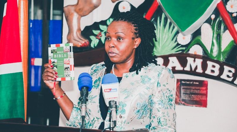 Immaculate Kassait Sworn In As Kenya's First Data Commissioner