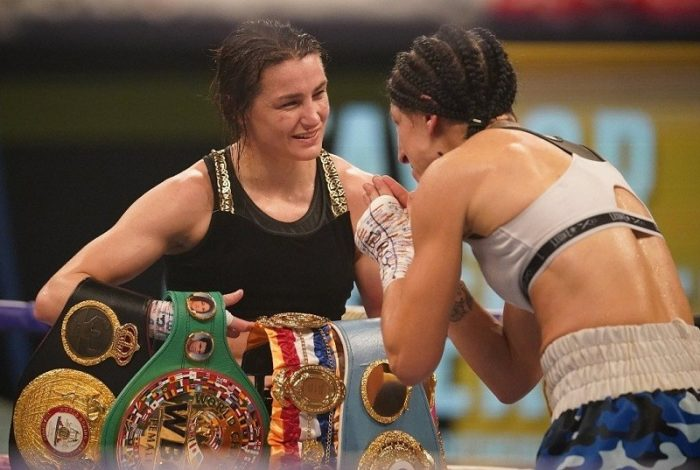 Katie Taylor beats Miriam Gutierrez via unanimous decision