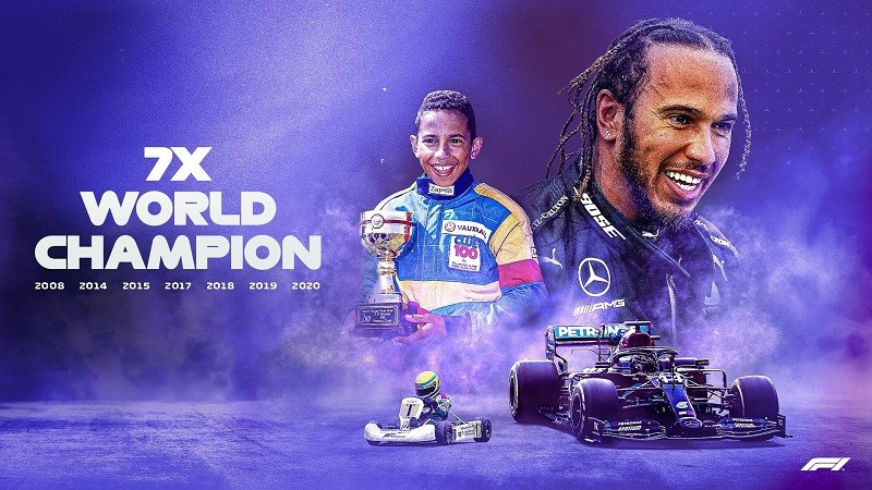 Lewis Hamilton wins the Turkish Grand Prix and becomes a seven-time world champion