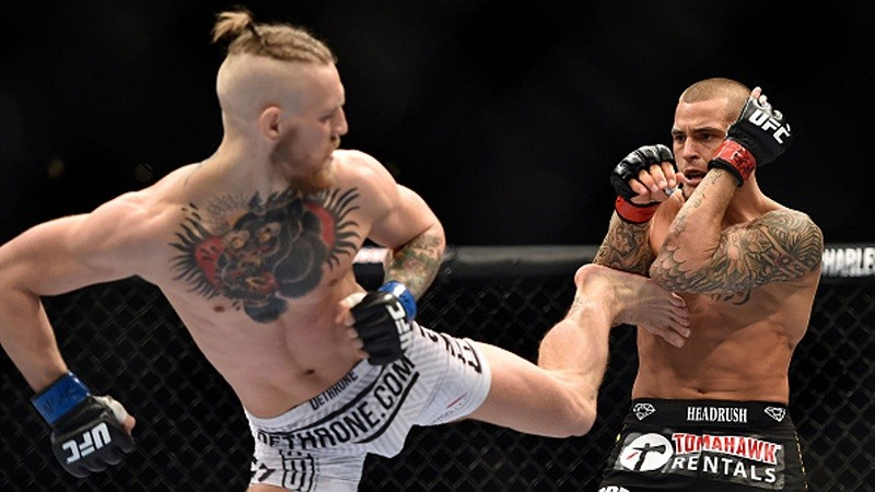 UFC confirms Conor McGregor clash with Dustin Poirier
